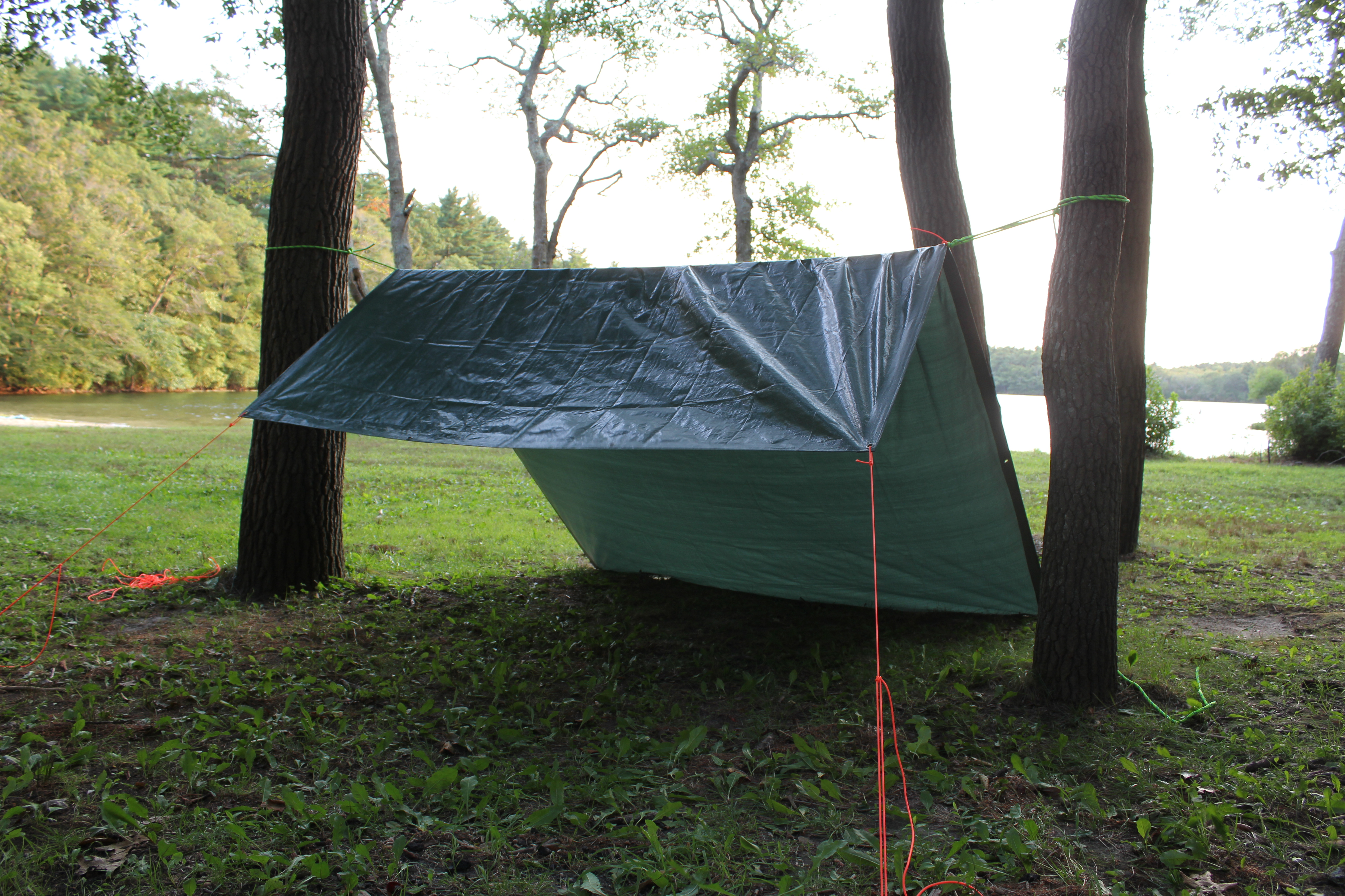 How To Build A Tarp Tent For Kayak Camping Kayak Dave S